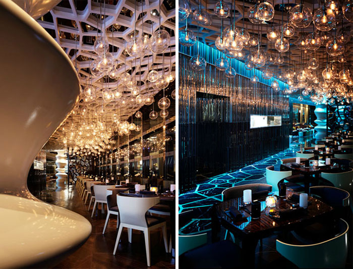 20 of the world s best restaurant and bar interior designs for Lounge interior ideas