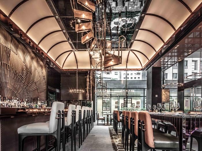 Amazing Restaurant Bar Interior Design 9