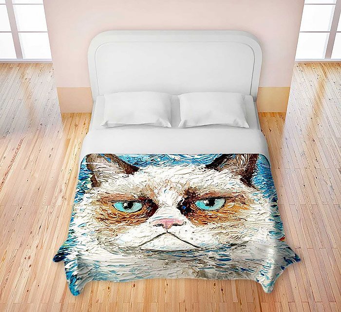 cool bed sheets designs. Modren Bed Grumpy Cat Duvet Intended Cool Bed Sheets Designs