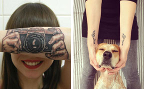 30 Creative Tattoos That Make Clever Use Of The Body