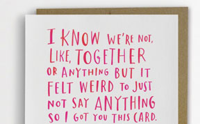 Adorably Awkward Greeting Cards By Emily McDowell