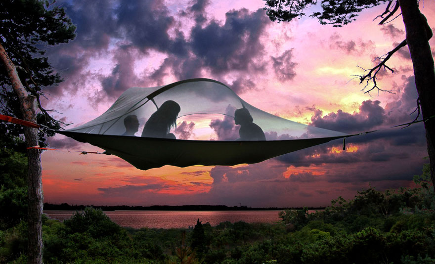 suspended-treehouse-tent-tentsile-alex-shirley-smith-1 & This Suspended Tent Lets You Sleep In The Trees | Bored Panda