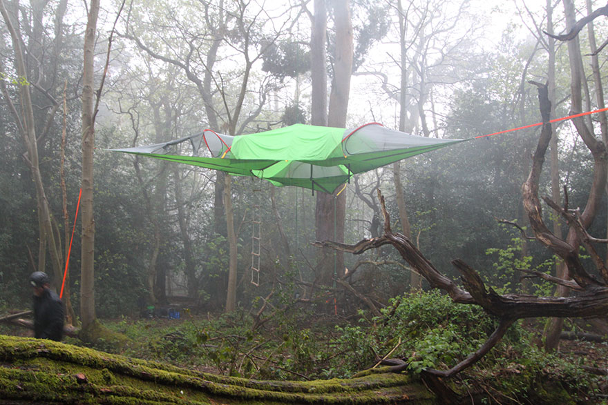 suspended-treehouse-tent-tentsile-alex-shirley-smith-11 & This Suspended Tent Lets You Sleep In The Trees | Bored Panda