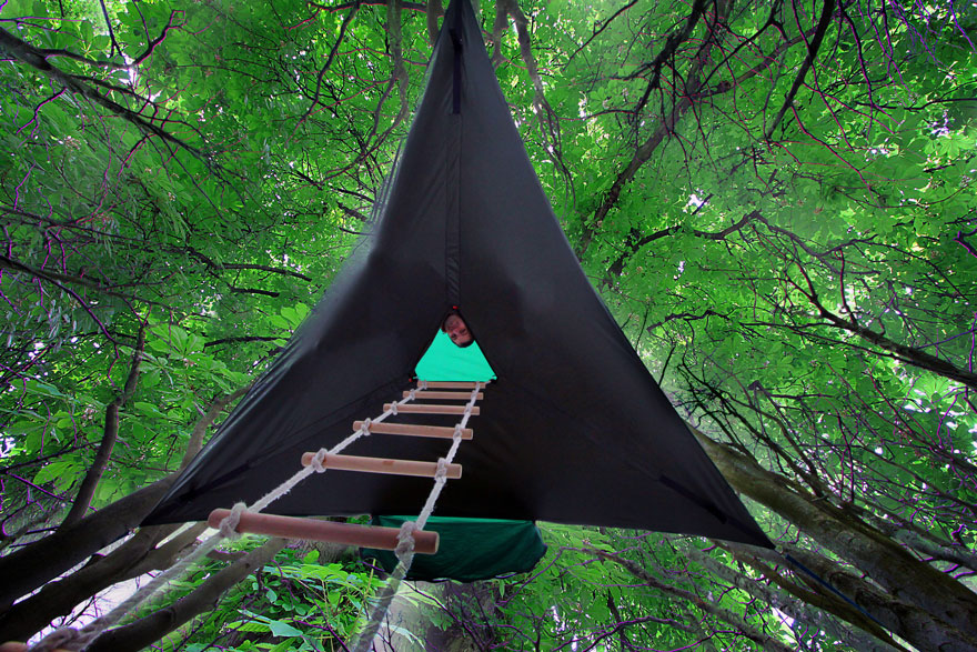 suspended-treehouse-tent-tentsile-alex-shirley-smith-4 & This Suspended Tent Lets You Sleep In The Trees | Bored Panda