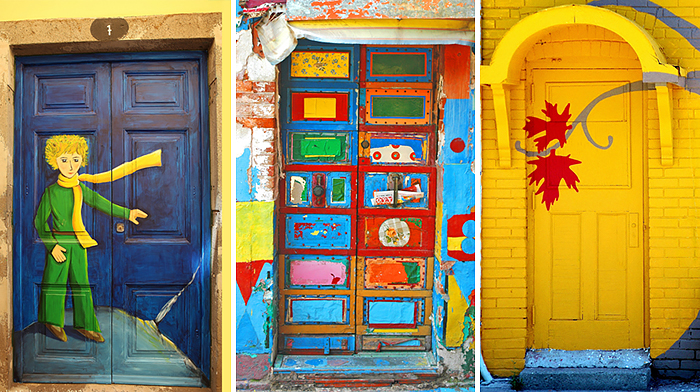 30 Beautiful Doors That Seem To Lead To Other Worlds