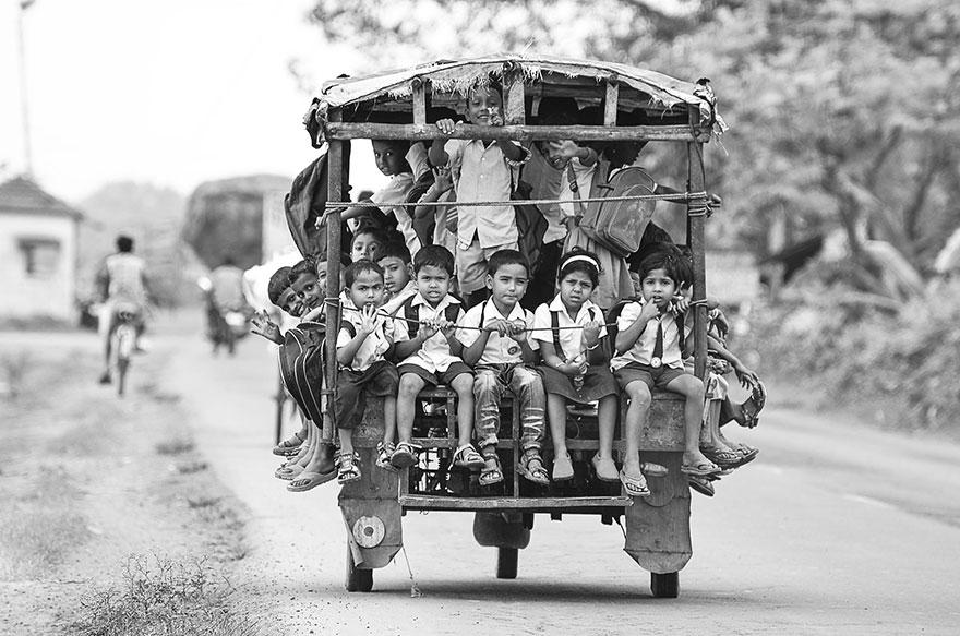 世界上令人难以置信和难以想象的上学之路