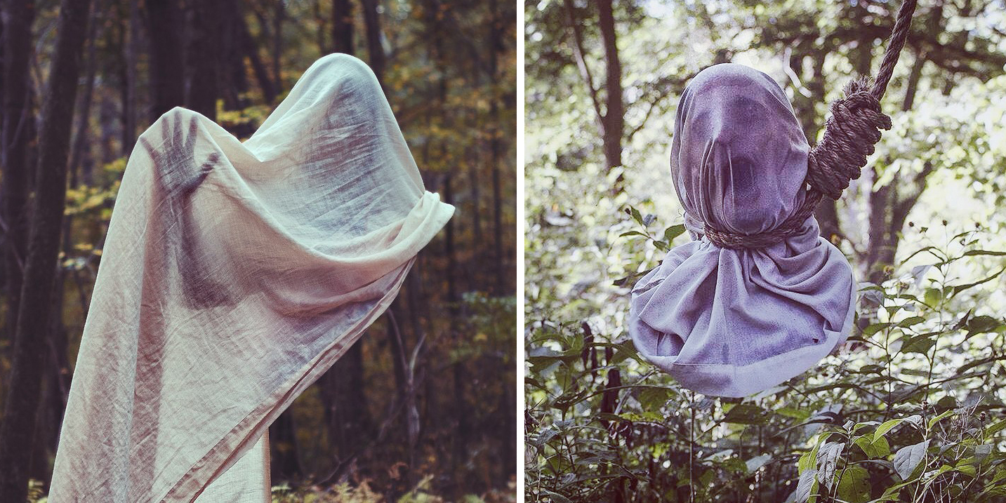 The Faceless People In Chris McKenney's Photos Will Give You Nightmares