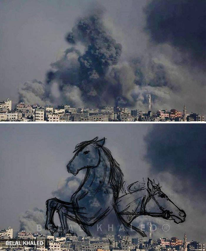 gaza-israel-rocket-strike-smoke-art-21