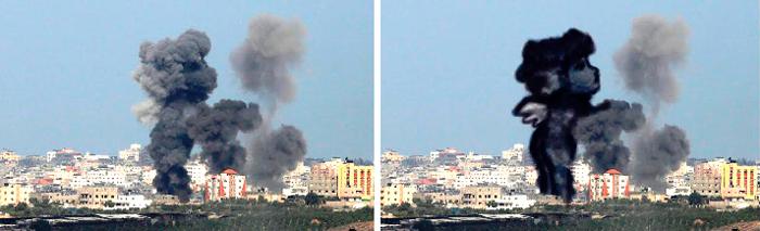 gaza-israel-rocket-strike-smoke-art-4
