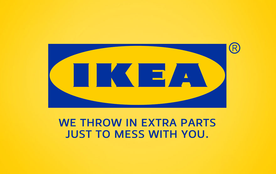24 honest brand slogans by clif dickens bored panda