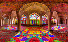 Mesmerizing Interiors Of Iran's Mosques Captured In Rare Photographs By Mohammad Domiri