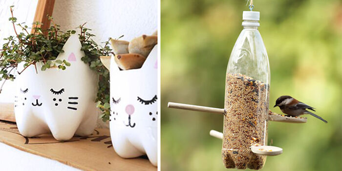 a69fce2aabe 23 Creative Ways To Recycle Old Plastic Bottles Into DIY Crafts