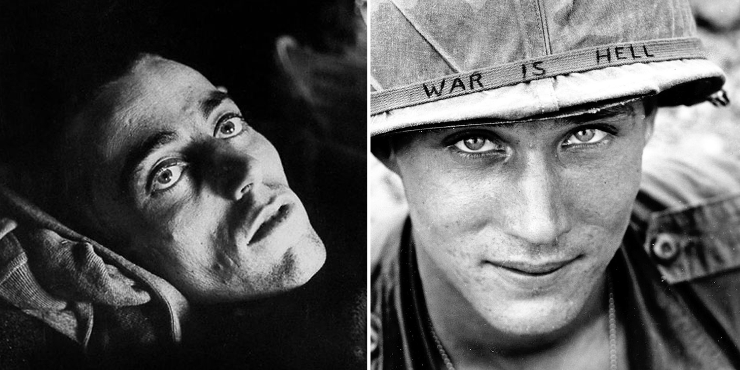 21 powerful photos of people�s eyes that say more than