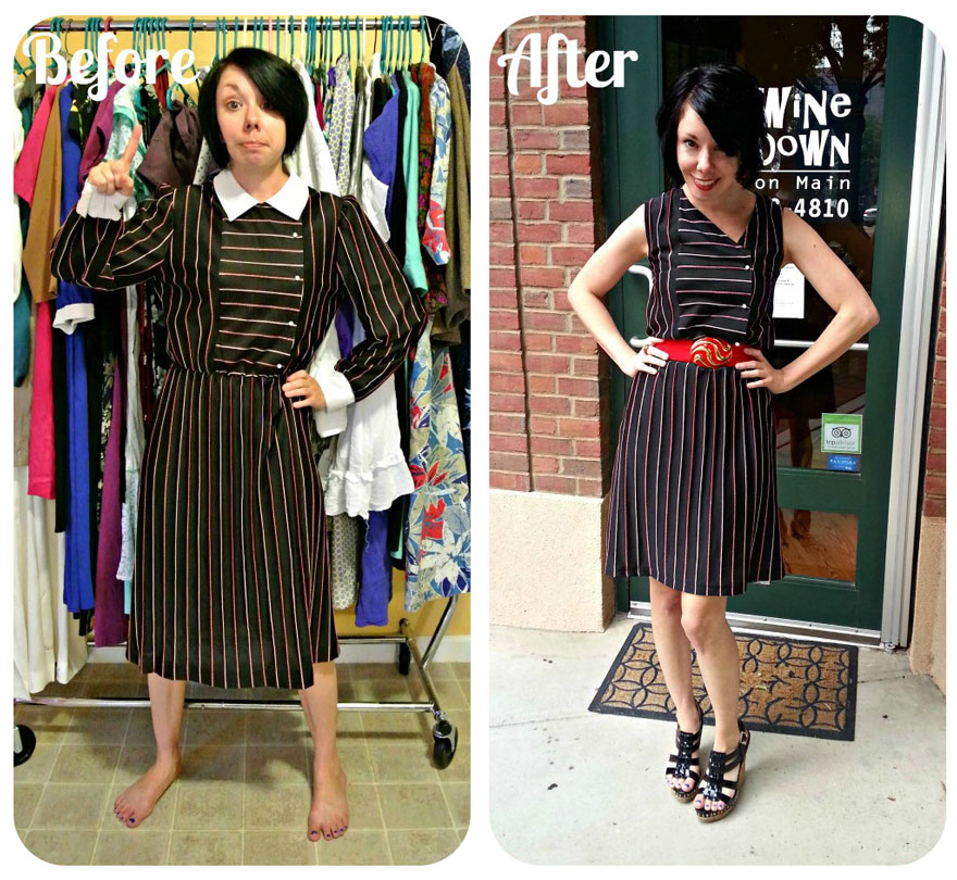 vintage womens clothing redesigned