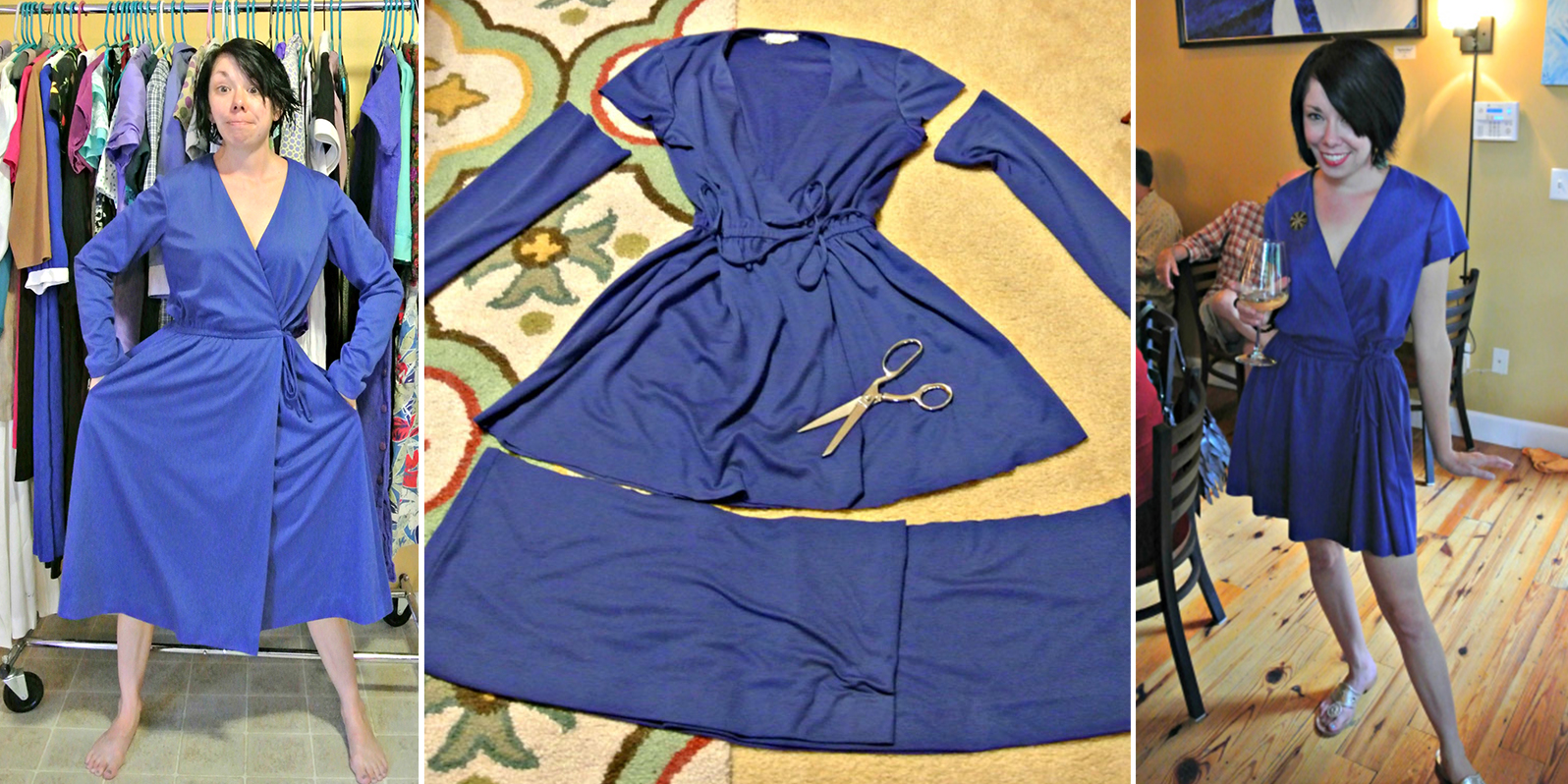Fb Design Clothes | This Woman Transforms Second Hand Clothes Into Elegant Dresses