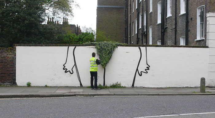 Les murs ont la parole. Street-art-interacts-with-nature-7