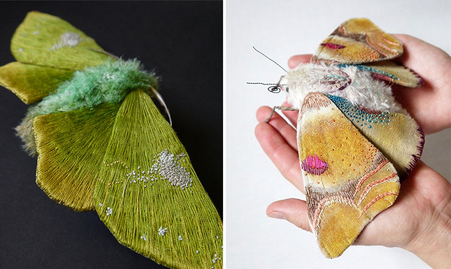textile-sculptures-insects-moths-butterflies-yumi-okita-2