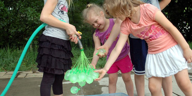 Creative Dad Invents A Tool That Can Fill 100 Water Balloons A Minute