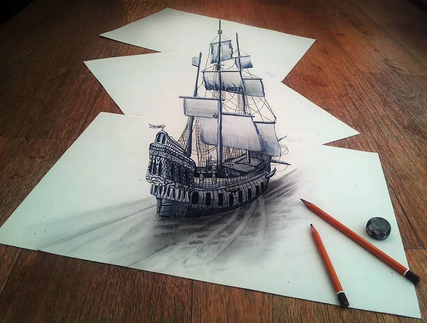 Awesome 3D Drawings