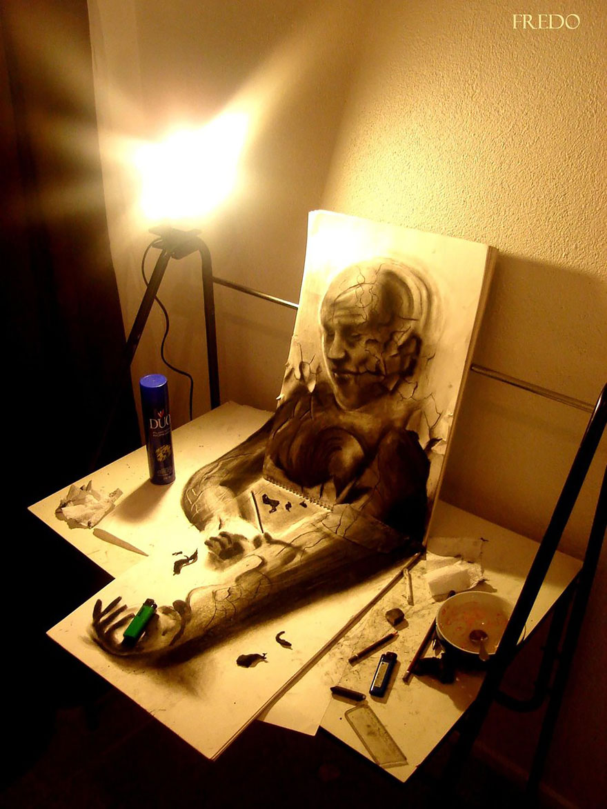 33 of the best 3d pencil drawings bored panda