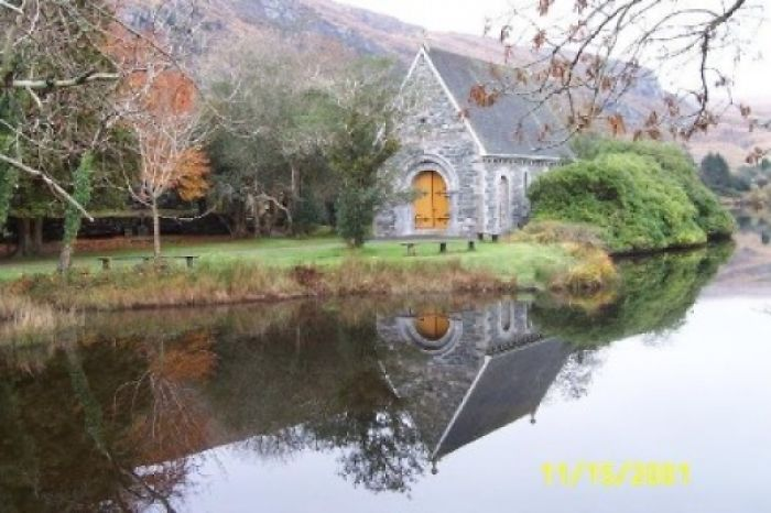 While Walking In The Irish Countryside, We Came Upon This Chapel. It Ended Up My Fav Pic!