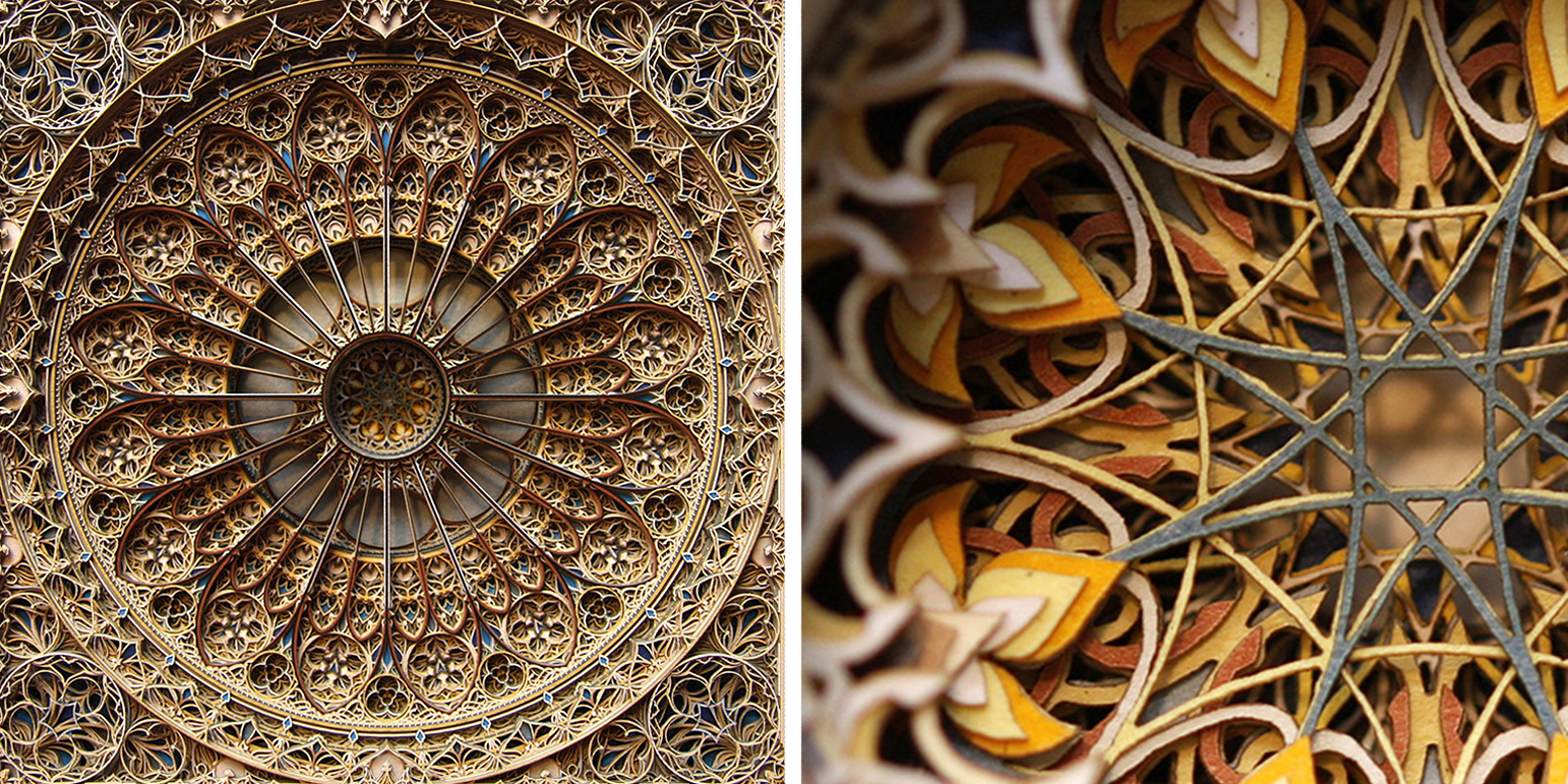 New Incredible Laser Cut Paper Art by Eric Standley