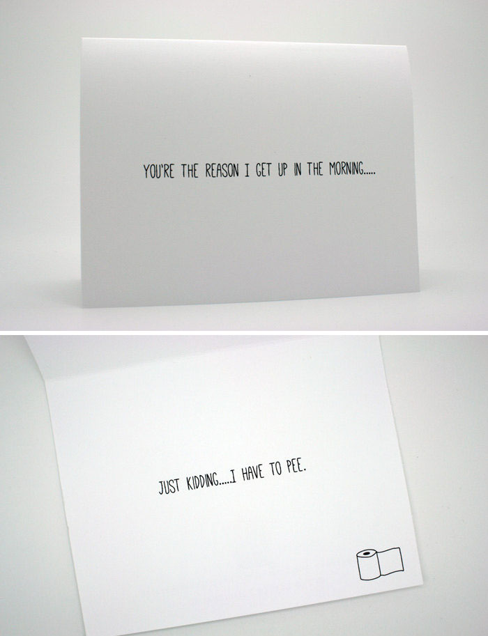 Awkward Funny Couple Love Cards 6