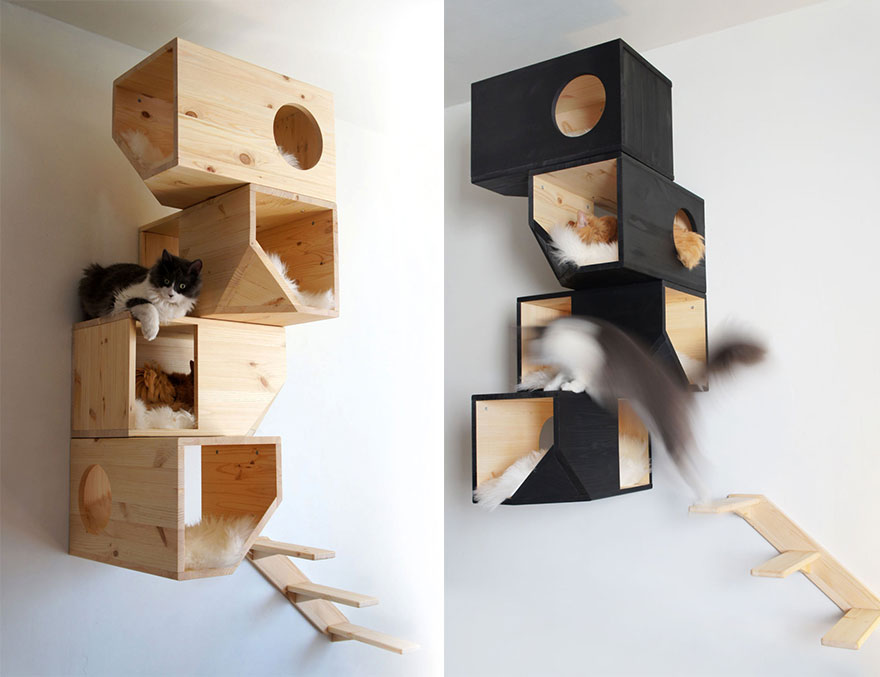 25 awesome furniture design ideas for cat lovers bored panda for Escaleras kotas