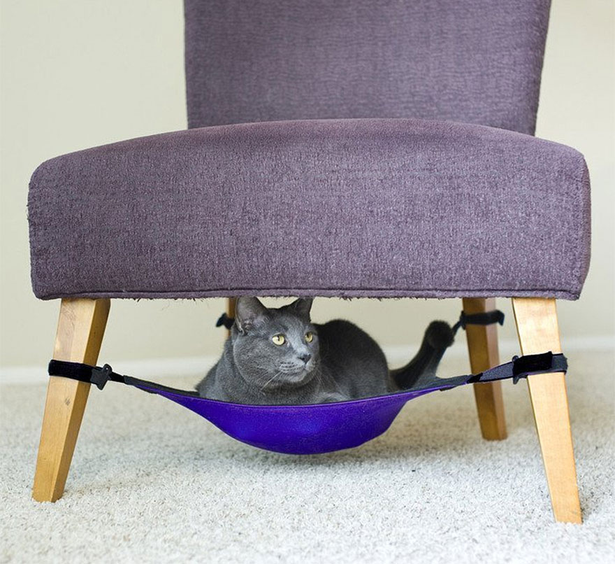 cat crib hammock 25 awesome furniture design ideas for cat lovers   bored panda  rh   boredpanda