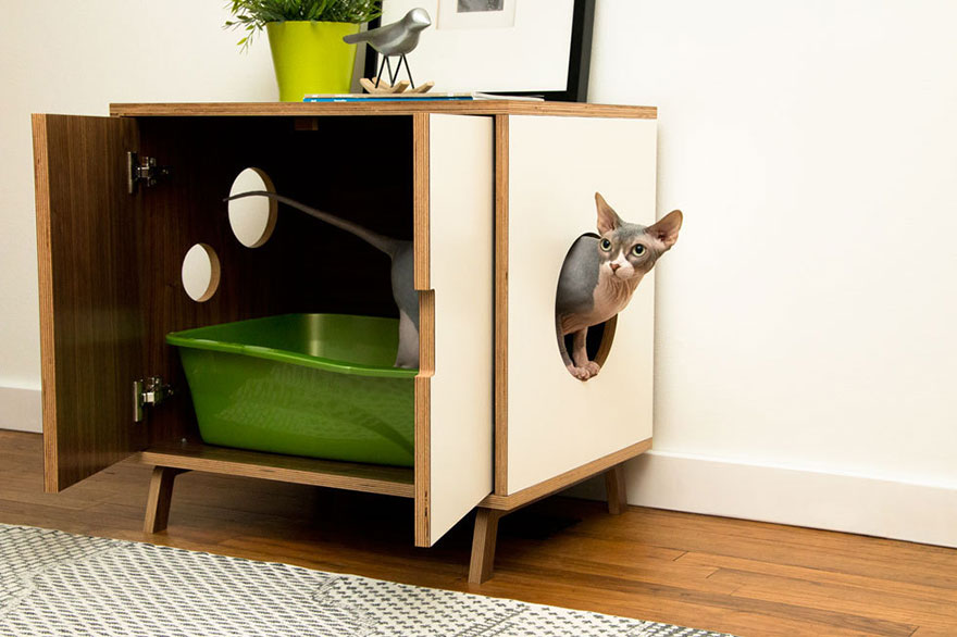 25 awesome furniture design ideas for cat lovers bored panda - Contemporary cat furniture ideas ...