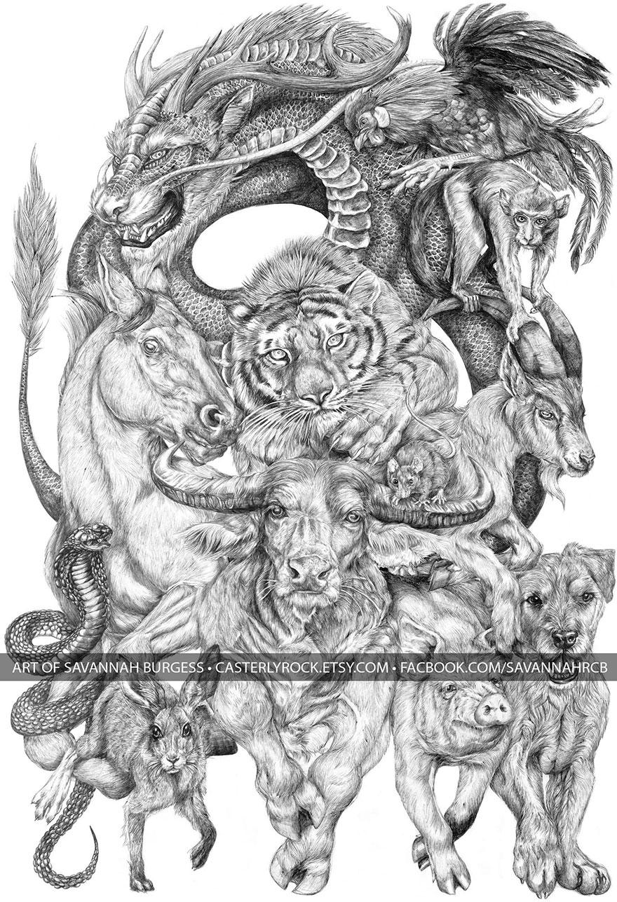 chinese-zodiac-animals-drawing-casterlyrock-savannah-burgess-11