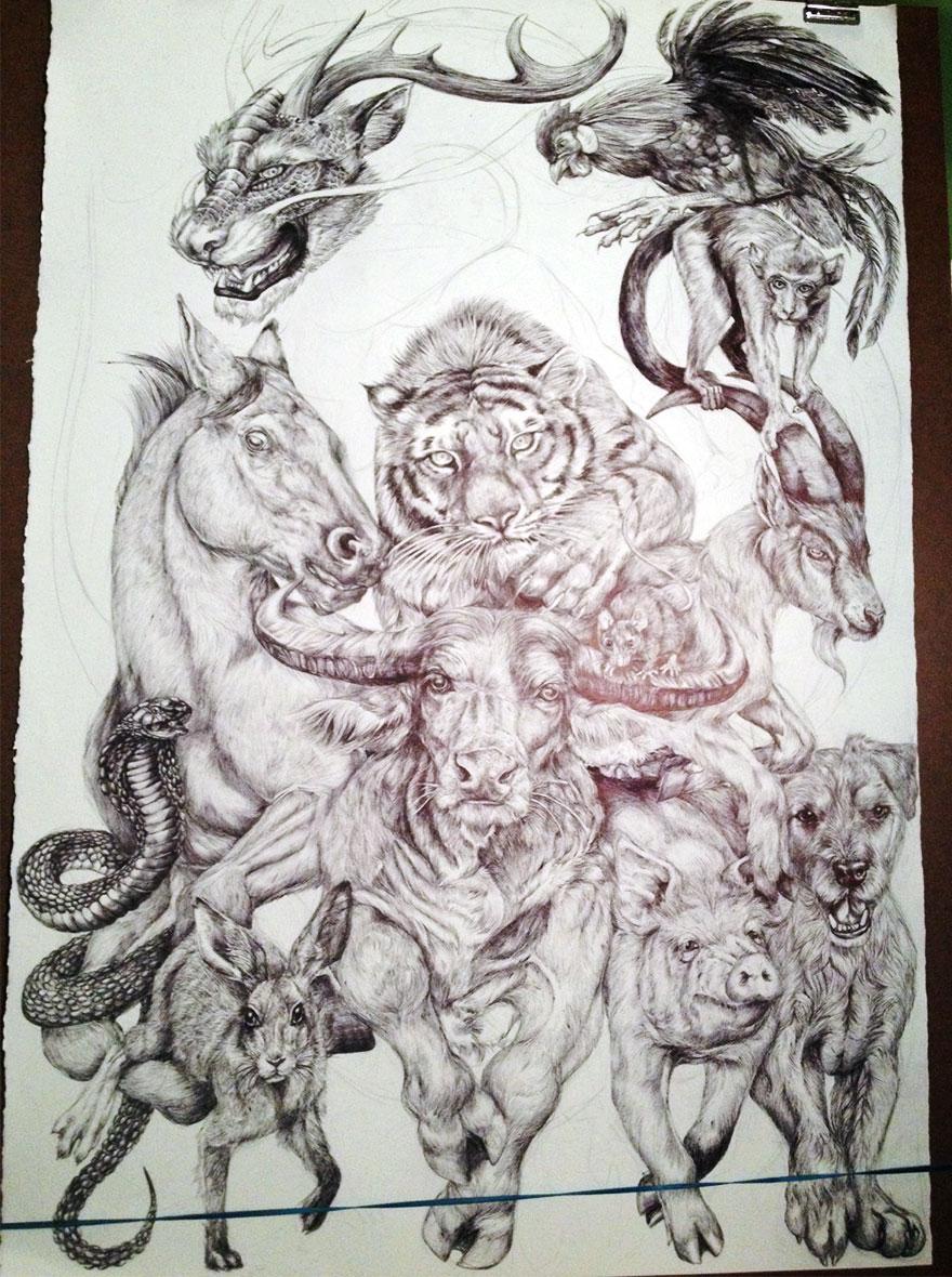 chinese-zodiac-animals-drawing-casterlyrock-savannah-burgess-9
