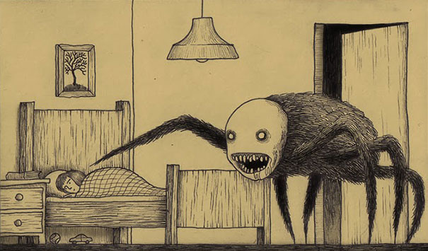 creepy-monsters-sticky-notes-drawings-don-kenn-5