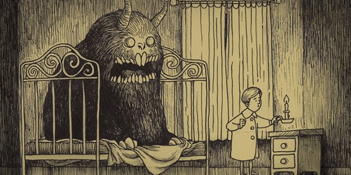 Artist Draws Terrifying Monsters On Sticky Notes