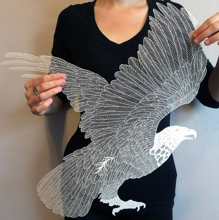 Incredibly Intricate Hand-Cut Paper Art By Maude White