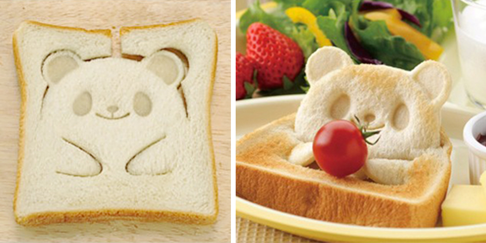 This Teddy-Bear Toast Stamp Will Make Your Breakfast Un-bearably Cute