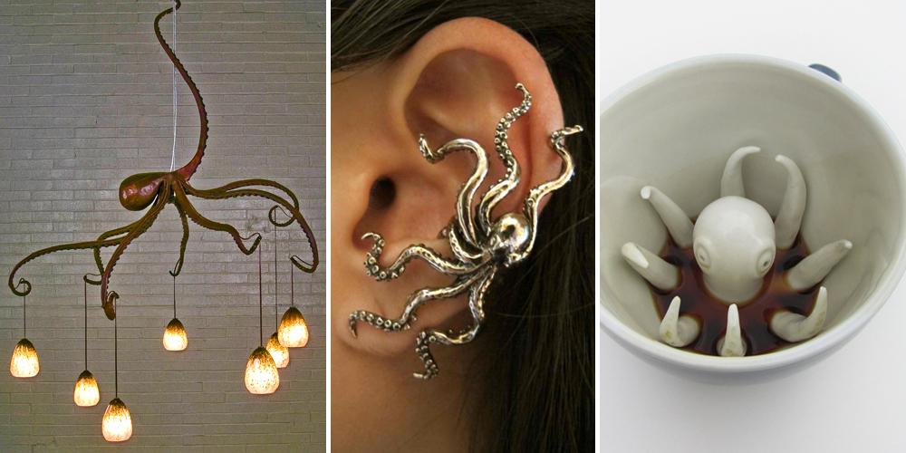 24 Octopus-Inspired Design Ideas