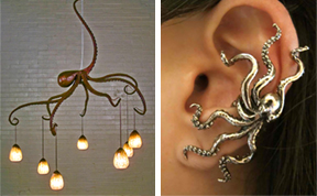 24 Octopus-Inspired Design Ideas