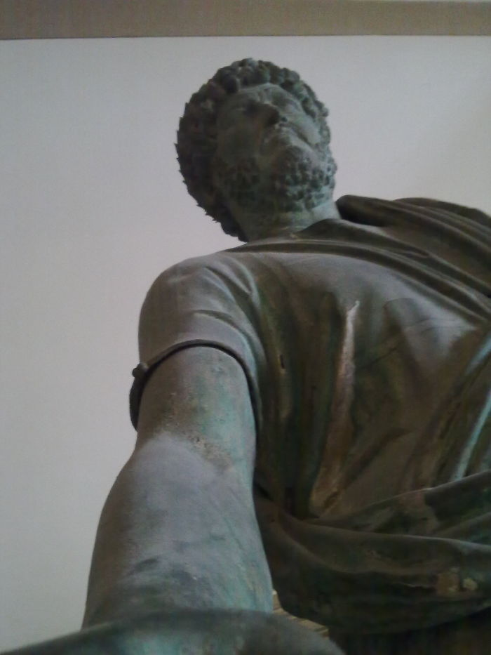 Bronze Statue O Hadrian – Constantinople Archaeological Museum