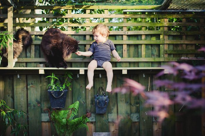 Growing Up With Animals Teaches You To Be Kind.