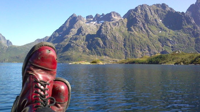 My Feet And A Motorcycle Took Me To Lofoten, Norway