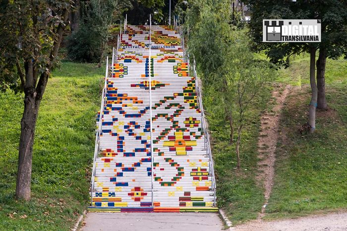 Digital Transilvania – Furnica Stairs, Targu Mures, Romania