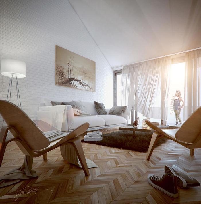 3D Interior Design Renderings You Wont Believe Arent Real