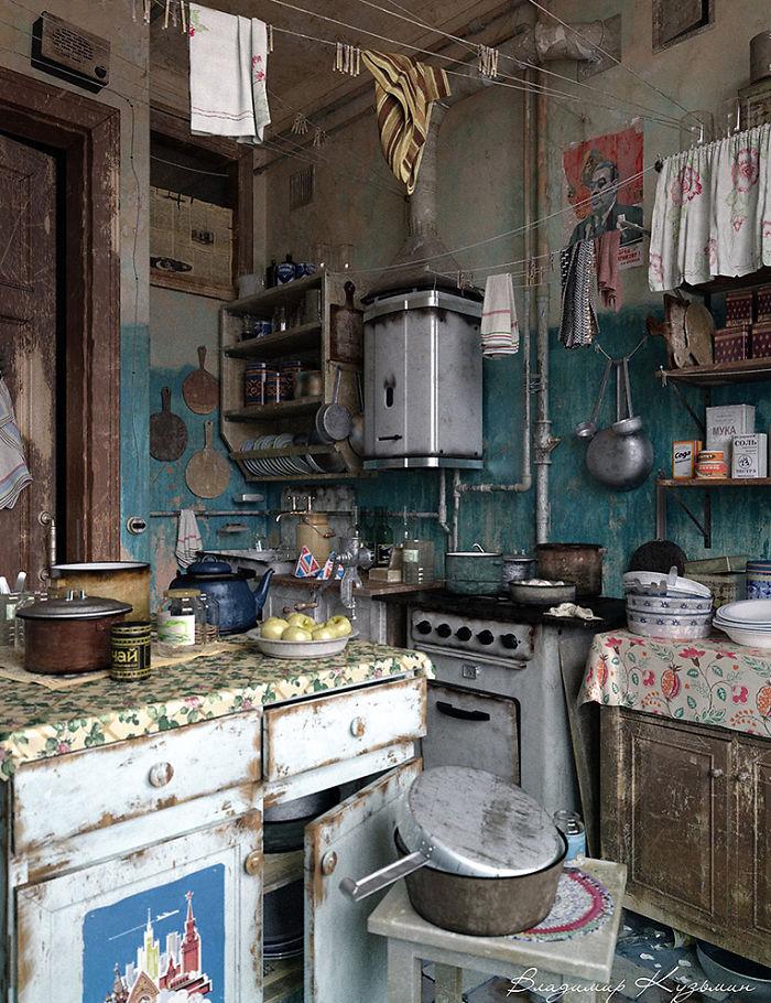 Kitchen by Kuzmin Vladimir