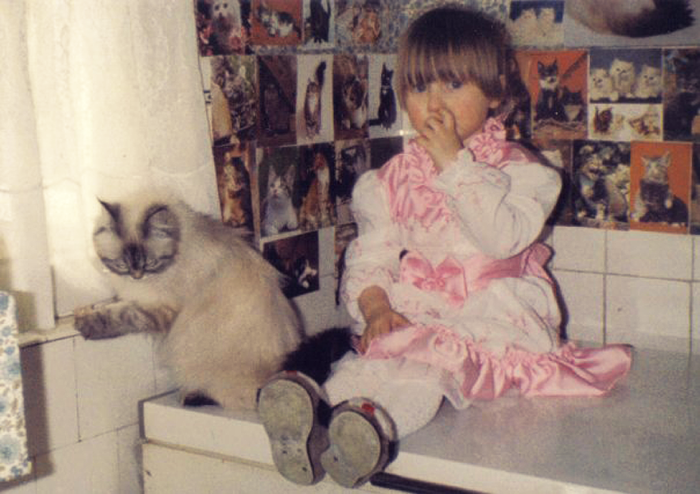 Cat Obsessed Grandmother 1988