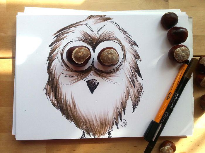 Chestnut Owl
