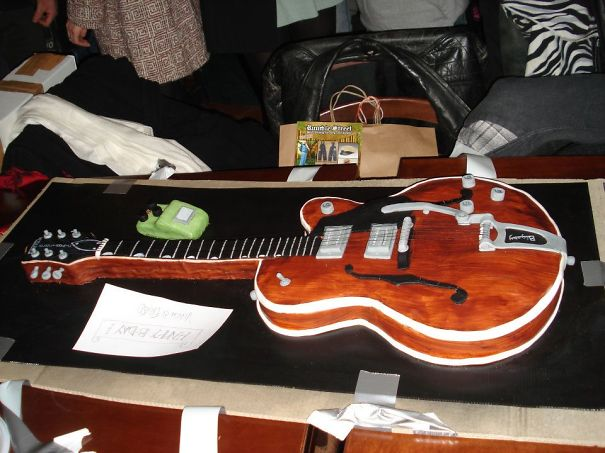 Guitar Cake (i'm Not Going To Do This Again..)