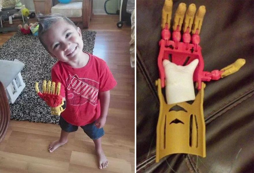Volunteer Engineers 3D-Print Superhero Prosthetic Arms For Kids ...