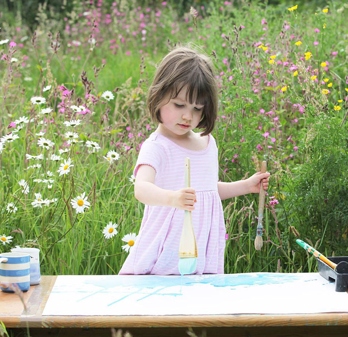 5-Year-Old With Autism Paints Stunning Masterpieces