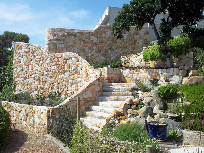 Handmade Stone Stairway In Cape Town